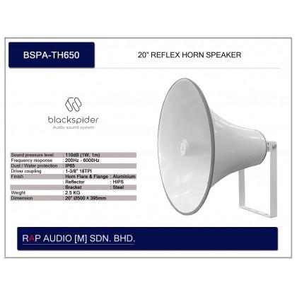 "[BLACK SPIDER] BSPA-TH650 20"" REFLEX HORN"